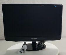 """Samsung B2030 Syncmaster 20"""" LCD Monitor DVI VGA w/ Cables"""