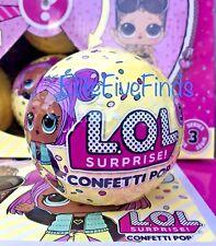 SERIES 3 LOL Surprise CONFETTI POP DOLL 9 LAYERS BALL L.O.L. IN HAND