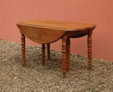 Tavolo ovale allungabile a bandelle 6 gambe, un'allunga da 51 cm, noce, '800!