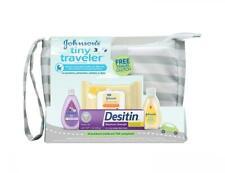 Baby Bath Skin Care Travel Gift  00006000 Set Boy Girl Newborn Johnsons Wash Shampoo New