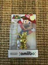 BRAND NEW Super Mario Gold Amiibo