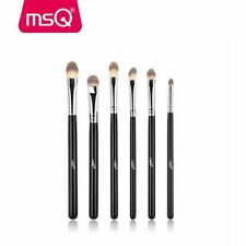 MSQ 6PCs Professional Eye Makeup Brush Set Eye Shadow Brow Synthetic Hair Brush