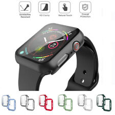 For Apple Watch Series 3 4 5 6 Full Body PC Case Cover Screen Protector 40/44mm
