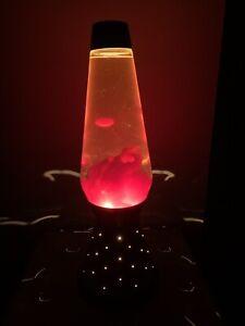 Vintage 1973 17'' Lava Lamp Starlite lava light RED GOLD RETRO 70's Decor