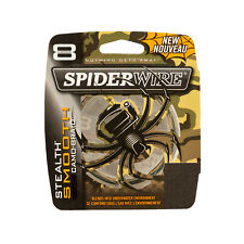 Spiderwire Superline Stealth Glatt 8 Blau Camo Borte Salzwasser Angelschnur