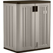 Outdoor Storage Box Shed Large Utility Storge Patio Deck Pool Garden Cabinet NEW