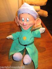 Vente Disney- Mattel -Rare nain Simplet 35 cm-les yeux &oreilles bougent-