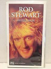 VHS ROD STEWART THE VIDEOS 1984-1991