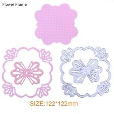 Lace Cutting Dies Stencils Scrapbook Embossing DIY Craft Album Card Gifts Sn9f