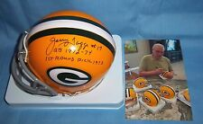 Green Bay Packers Jerry Tagge Signed Autographed Mini Helmet Nebraska Huskers