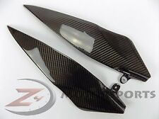 2007 2008 Yamaha R1 Gas Tank Side Trim Panel Cover Fairing 100% Carbon Fiber