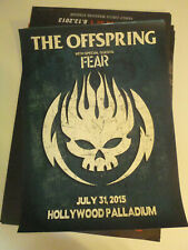 The Offspring W/Fear Concert Poster Unused Thick stock