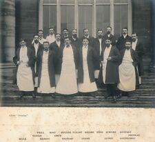 Hôpital LARIBOISIERE c. 1908 - Médecins Chirurgiens Internes Paris - 9