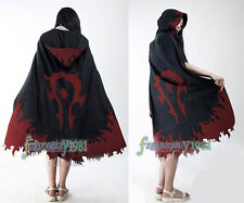 WOW World Of Warcraft  Cosplay Costume Tribal cloak Any size The flame pattern