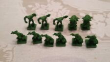 Complete Set Of 11 Green Monsters For 2003 Parker Dungeons & Dragons Board Game