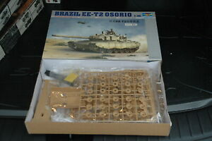 MAQUETTE CHAR BRAZIL EE-T2 OSORIO TRUMPETER 1/35