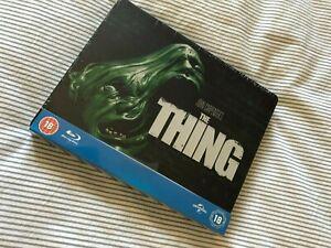 The Thing Blu Ray Steelbook UK Play.com Exclusive 100th Anniversary OOP