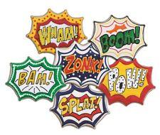 Tovolo Comic Book Burst Cookie Cutter & 6 Design Stamps Set Super Hero Wham Boom