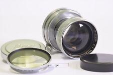 Leica Lens Ernst Leitz Wetzlar Summitar 50mm f/2 screw mount, working perfectly