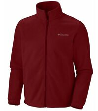 COLUMBIA Steens Mountain Full-Zip Fleece Jacket Men Big Tall 4XT Red Element NWT