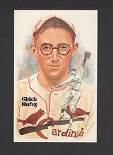 #121 Chick Hafey, Cardinals/Reds [Mlb: 1924-37] Perez-Steele Hof art postcard