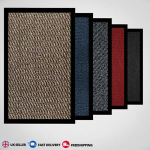 New Non-Slip Heavy Duty Entrance Indoor/Outdoor Floor Mat Small Large Washable