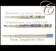 RIESENMINE für alte MONTBLANC KUGELSCHREIBER / Mine Refill Kugelschreibermine