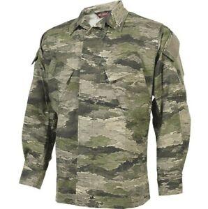 Tru-Spec Xtreme A-TACS Camouflage BDU Jacket Intermediate Xtreme IX