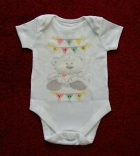 I Love You 100% Cotton Baby Grow Vest Boy/Girl 6-9 Months