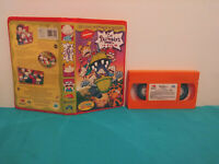 Les razmoket le film vhs The rugrats the movie  vhs & clamshell case FRENCH rare