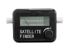 LED Satellite Finder con segnale acustico In Line input Misuratore di Forza del segnale di frequenza