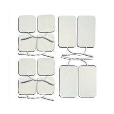 Premium Reusable TENS Unit Electrode Pads - Combo 12-Pack Self-Adhesive Elect...