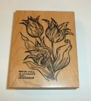 PSX K622 Tulip Tulipa Botanical Flower Rubber Stamp Large Size