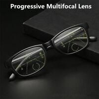 Vintage Frame Intelligence Progressive Multifocal Commercial Reading Glasses