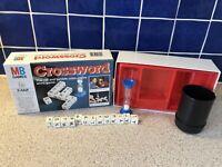 Vintage MB Games 1978 CROSSWORD WORD GAME 100% COMPLETE VGC