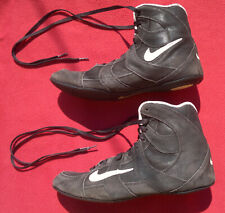 vtg Nike wrestling suede leather trainers shoes men's