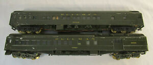 2 O Scale Vintage Walthers Pullman Cars - The Citadel & Zanzibar