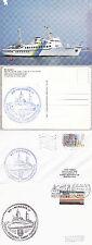 NAVE PASSEGGERI TEDESCA MS Nordsee i a Navi inseriti nella cache Copertura cartolina & CARD