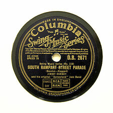 """JIMMY DORSEY JAZZ BAND """"South Rampart Street Parade"""" (EE+) COLUMBIA [78 RPM]"""