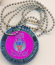 GAYS KINGDOM, Respect d'une communauté, médaille argent violet (LR.Paris) (7746)