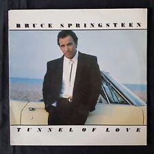 BRUCE SPRINGSTEEN Tunnel Of Love CBS Lyric Inner UK Press 1987 VINYL LP EX
