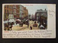 1902 Dublin Belfast Ireland Grafton Street Illustrated Postcard Cover