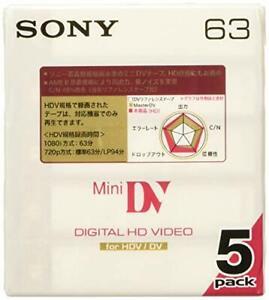 SONY Mini DV cassette tape 5DVM63HD Recording media for video camerapz 5DVM63HD