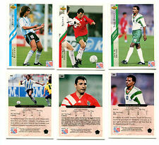 "Upper Deck 1994 World Cup ""High Numbers"" Soccer Card Set RARE!"