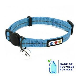 Pawtitas Reflective Cat Collar Made from Plastic Bottles Collected from Oceans.