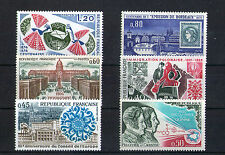 France 6 timbres non oblitérés gomme**  28 Commémoration divers