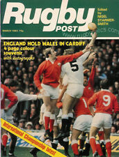 RUGBY POST Mar 1983 ENGLAND MAGAZINE