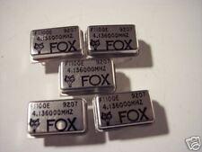 FOX 4.136 MHz crystal oscillator  5 pieces