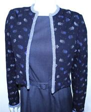 Schiaparelli Atelier vintage knit cardigan jacket 40