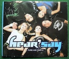 Hear'Say Pure and Simple CD Single